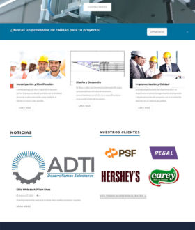 ADTI Frontpage