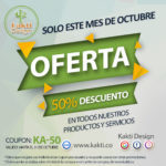 All October 50% Discount