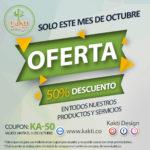 All October 50% Discount