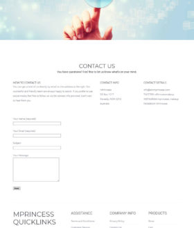 mPrincess-contact